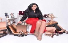 Nataly de la Cruz presentó su colección de zapatos junto a Giannina Azar