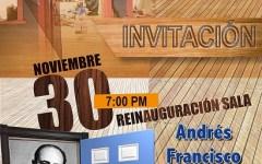 Celebrarán reinauguración oficial de la Sala de Eventos Andrés Francisco Requena del Comisionado Dominicano de Cultura