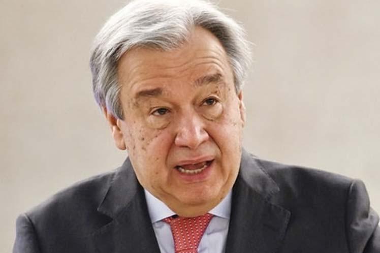 Secretario general de ONU alerta sobre violaciones a derechos humanos
