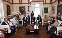 Presidente Danilo Medina recibe informe de avances en lucha contra el lavado de activos