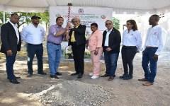 Inician construcción de dos comedores económicos en Independencia y Bahoruco