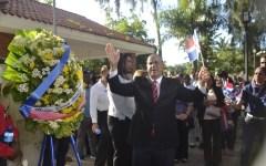 EN VILLA MELLA CONMEMORAN NATALICIO M. R. MELLA CON LLAMADO AL PATRIOTISMO Y AL RECHAZO UNIFICACIÓN ISLA.