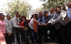 Alcalde René Polanco inicia construcción parque Los Palmares con fondos del Pascal