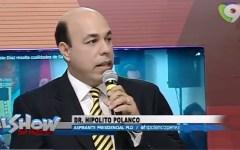 Hipólito Polanco dice llegó el relevo en el PLD