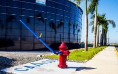 Hidrantes para sistema contra incendios en avenida Gregorio Luperón