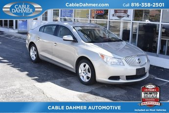 Cable Dahmer Buick GMC Dealer in Independence  MO 2010 Buick LaCrosse CX Automatic FWD 3 0L V6 SIDI DOHC VVT Engine Sedan