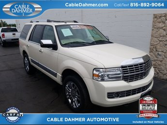Cable Dahmer Auto Direct is a Independence Chevrolet  Buick  GMC     2008 White Chocolate Tri Coat Lincoln Navigator Base 4X4 4 Door Automatic