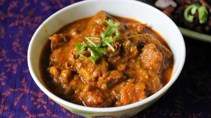 Mutton Masala recipe, mutton semi gravy recipe, mutton with gravy recipe, spicy mutton recipe, kerala recipe