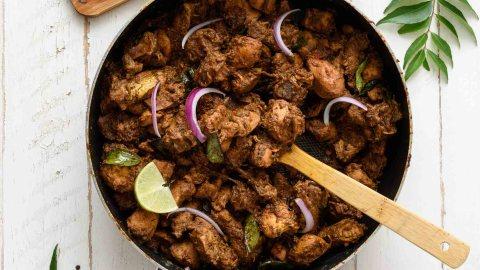 chicken recipe Dragon chicken recipe kerala Recipe nadan chicken ...