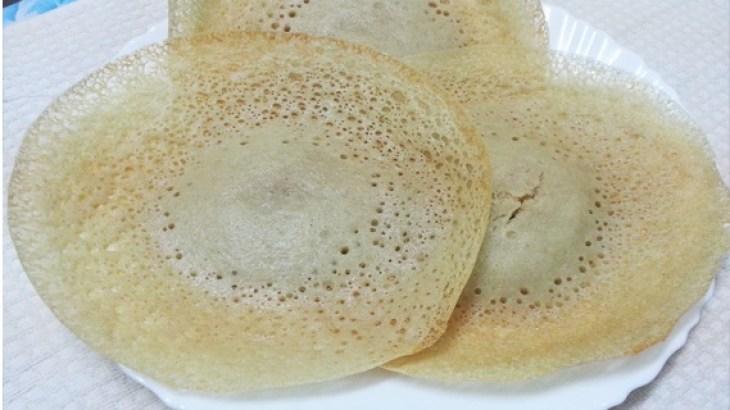 Gothambu Appam (Wheat Appam), appam recipe, easy breakfast recipe, kerala recipe