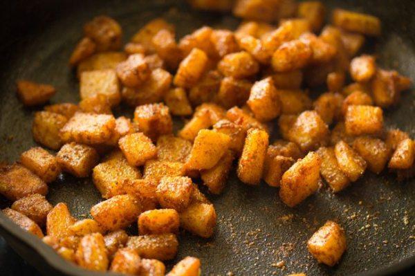 easy and quick aloo fry, potato fry kerala style, veg recipe kerala style, potato side dish recipe