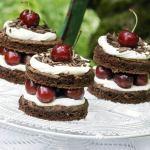 black forest cups, easy dessert recipe