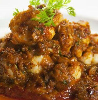prawns pepper roast kerala style, prawns dry recipe