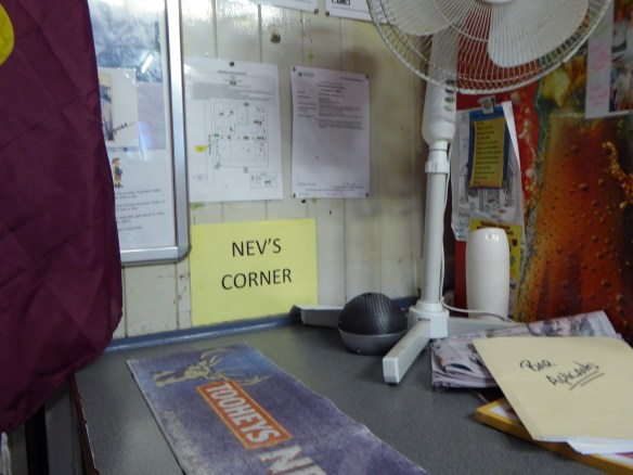 Someone has his dedicated corner in the pub: Nev
