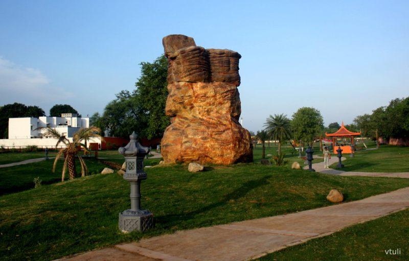 The Stone Sculpture (Phase - 2) - Japanese Garden Chandigarh