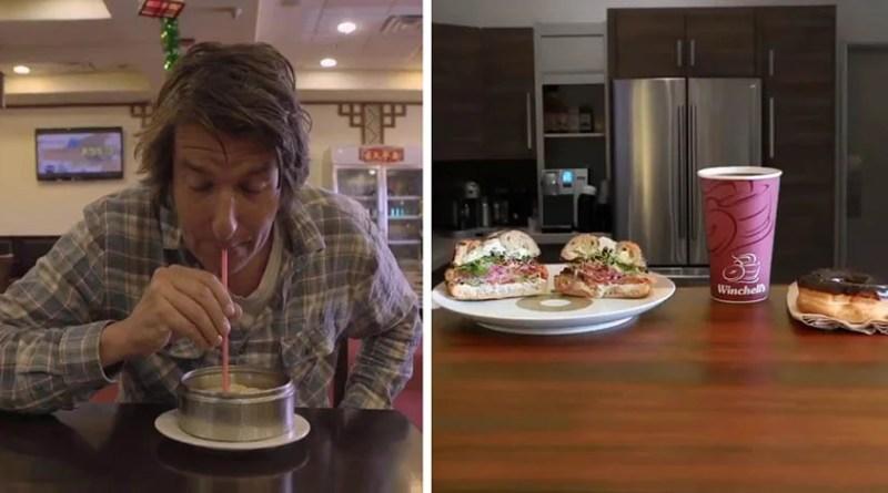 Этот парень делает веселые коротенькие видео, обозревая рестораны и еду.