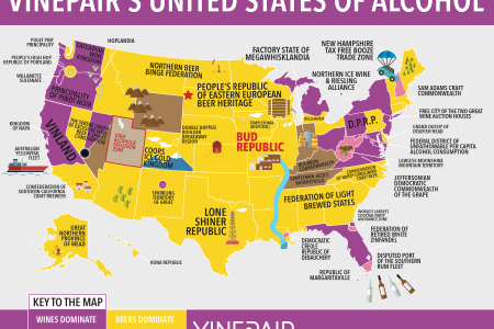 map the united states of alcohol | vinepair