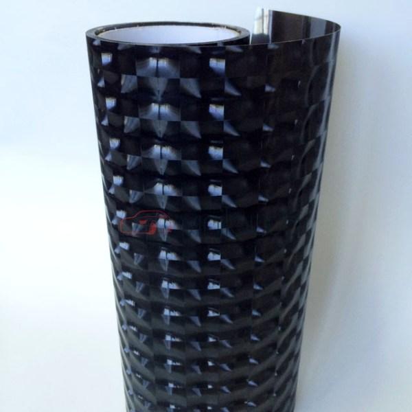 Пленка 4D черная для фар