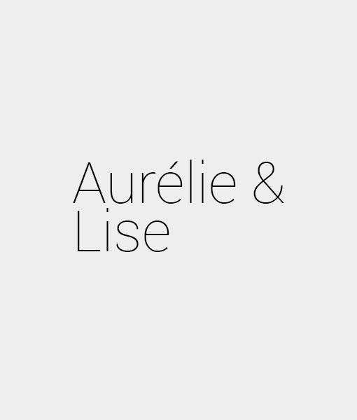 Aurélie et Lise