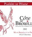 Bt Cote de Brouilly PP
