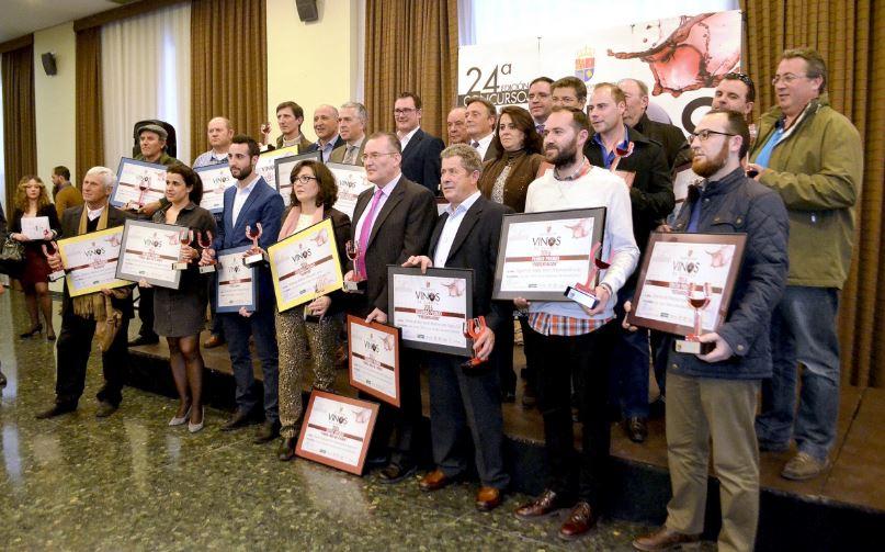 Los 18 premiados en Vinos de Cuenca 2016