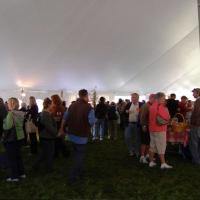 Main Tent, 2nd Annual Vermont Life Wine & Harvest Festival