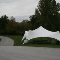 Tent at Satek Winery