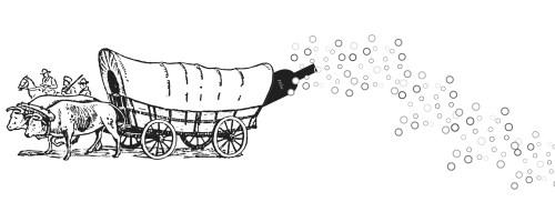 Little Wine on the Prairie Logo