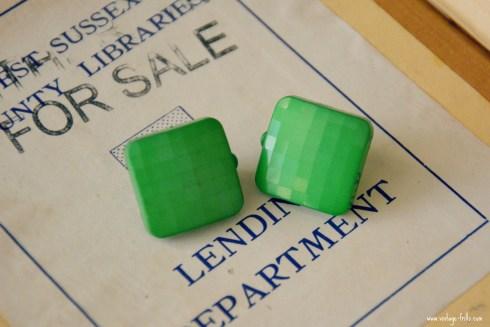 Hostess Hotties Green Earrings