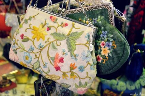 Vintage Embroidered Handbags Mid Century Market