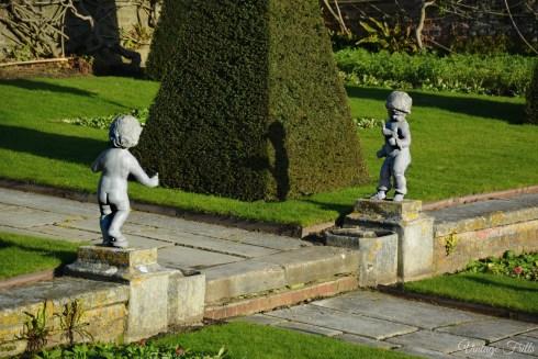 Hampton Court Garden Statues