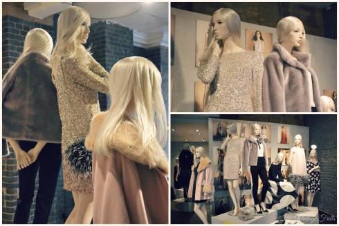 Coast AW15 Press Day Sequins and Fur