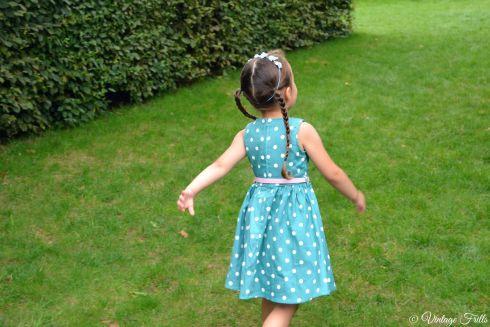 Lindy Bop Kids Audrey Dress  Vintage Frills