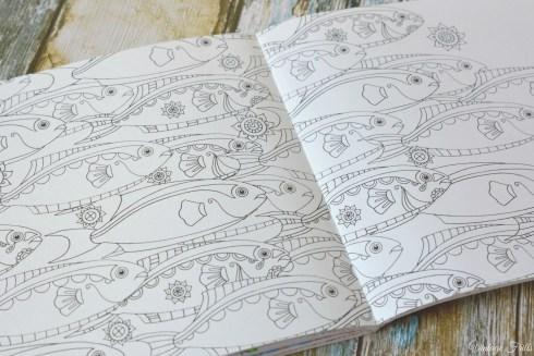 Colour Me Mindful Colouring Book Fish