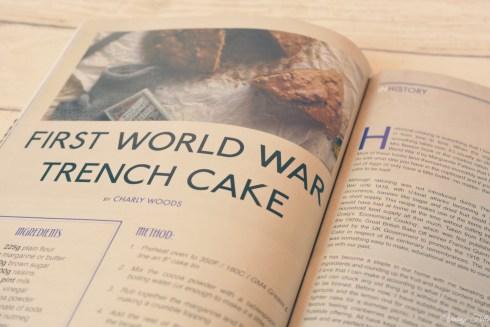 In Retrospect Trench cake