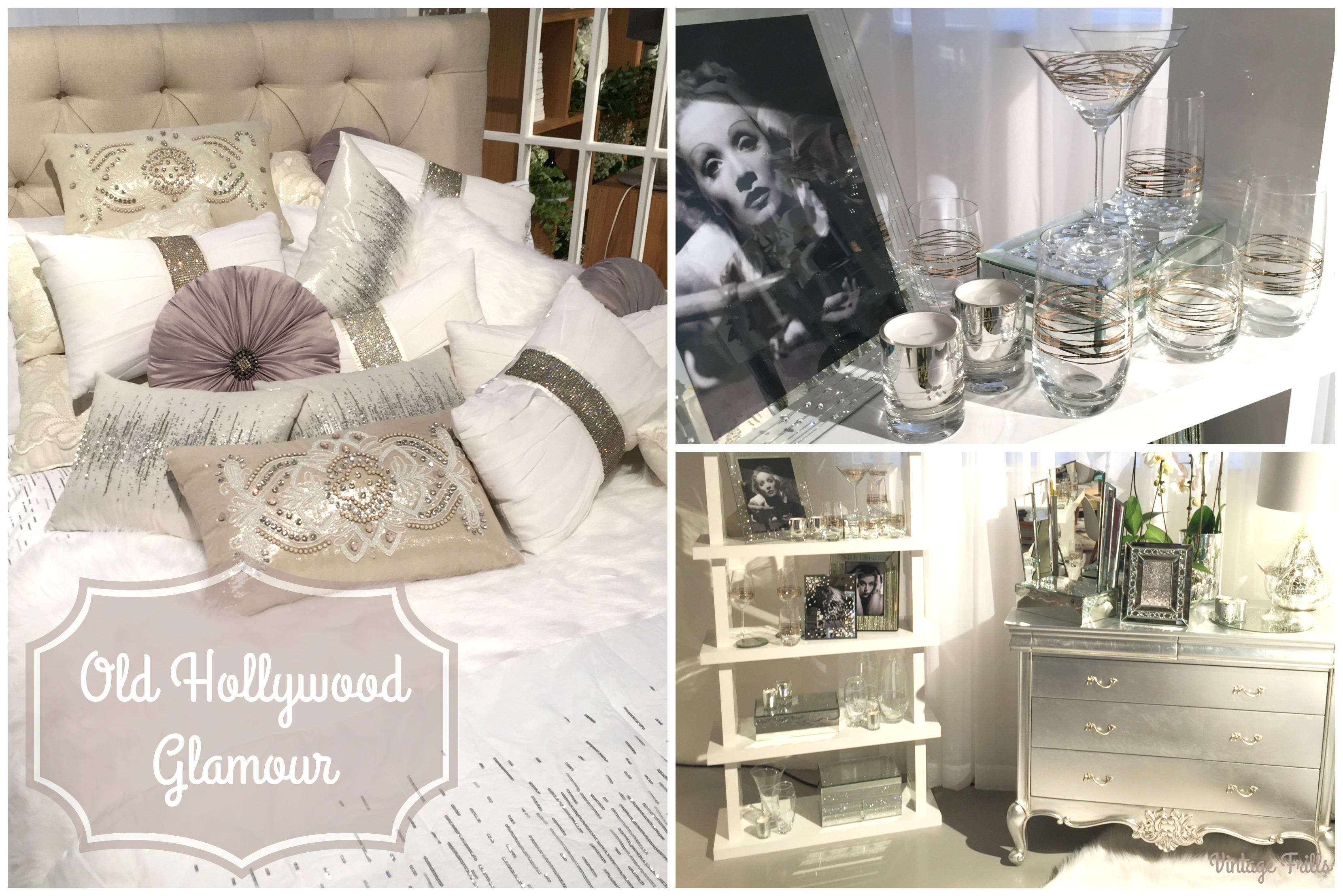 home inspiration old hollywood glamour vintage frills