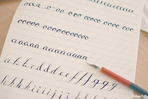 Viking Arty Party Calligraphy Alphabet