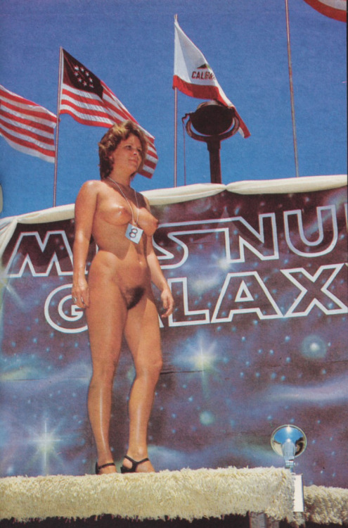 Miss Nude Galaxy 1976 - Vintage Nude