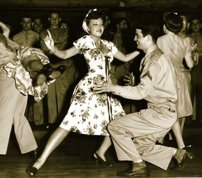 1940s dancers lindy swing