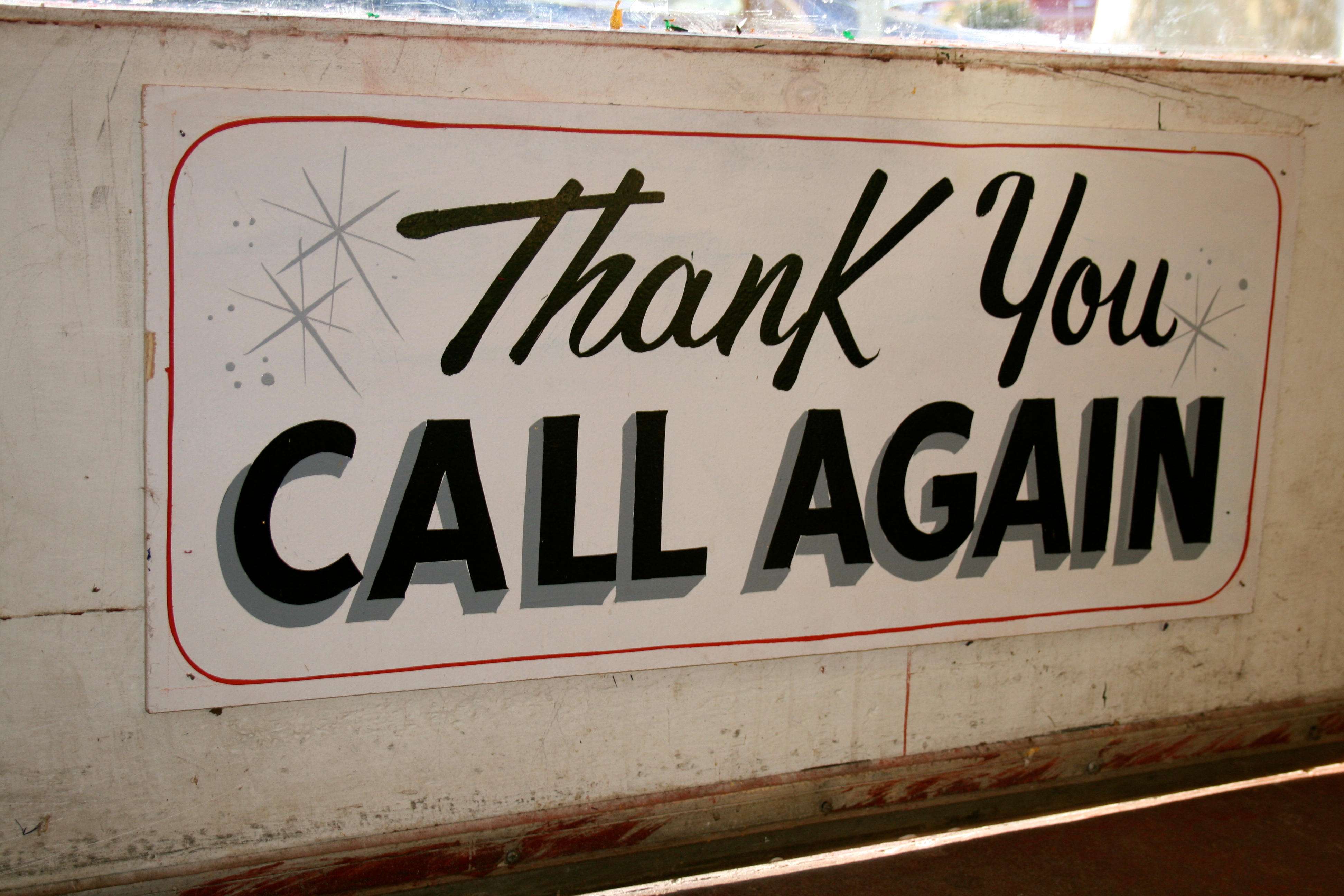 Enticing Thank A Peek Into A Sign Vintage Gal Thank You Come Again Web Series Thank You Come Again Bag houzz 01 Thank You Come Again