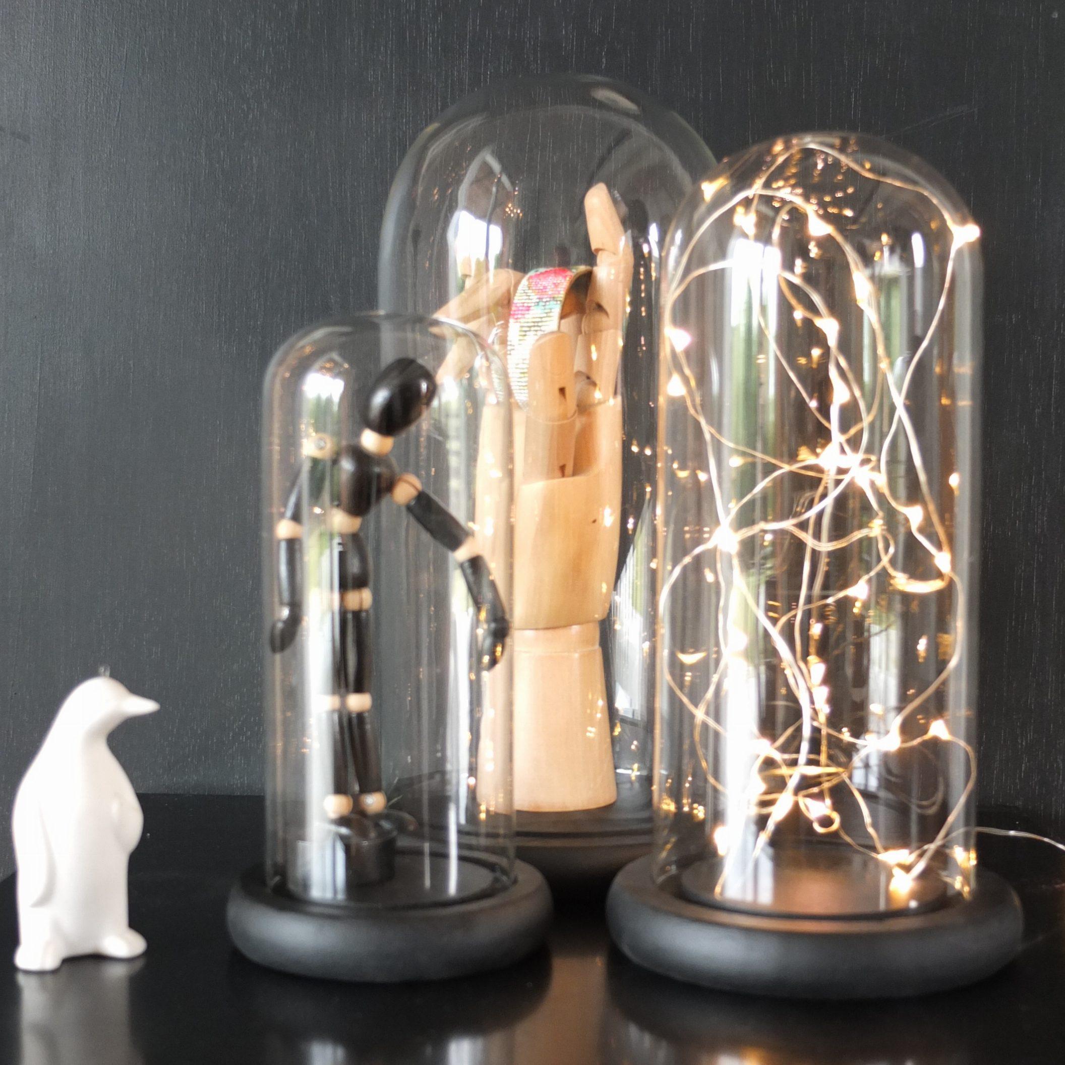 globe en verre vintage magic. Black Bedroom Furniture Sets. Home Design Ideas
