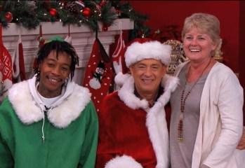 Wiz Khalifa Dresses Up As An Elf With Tom Hanks As Santa