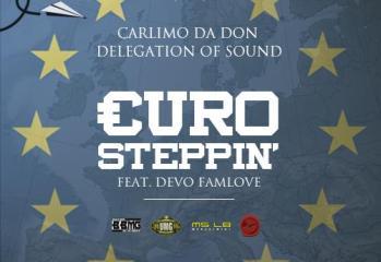 Carlimo da Don & Delegation of Sound - Euro Steppin artwork