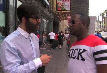 Drake Goes In Disguise.. Asking The Streets About The Espy's