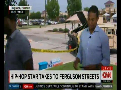Talib Kweli Goes Off On CNN's Don Lemon About Coverage Of Ferguson Riots
