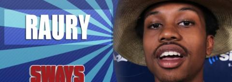 "Raury Freestyles Over Outkast's ""Elevators"" On Sway In The Morning"
