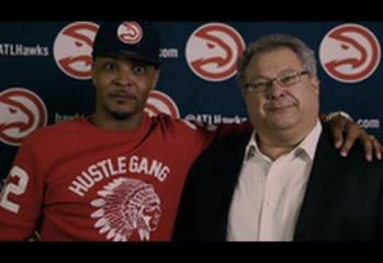 """Atlanta Hawks CEO """"Stevie K"""" Gets A Little Too Excited In This Promo With T.I."""