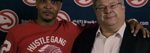 "Atlanta Hawks CEO ""Stevie K"" Gets A Little Too Excited In This Promo With T.I."
