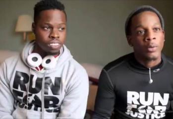 Two Men Run 550 Miles From Atlanta To Michael Brown's Memorial In Ferguson