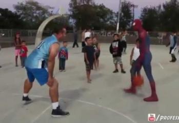 Spiderman Plays Basketball Part 6! (Vs Deadpool)